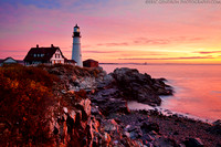 Portland Head Lighthouse Sunrise