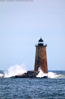 Storm Surge at Whaleback Lighthouse