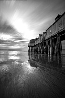 Pier in Monochrome