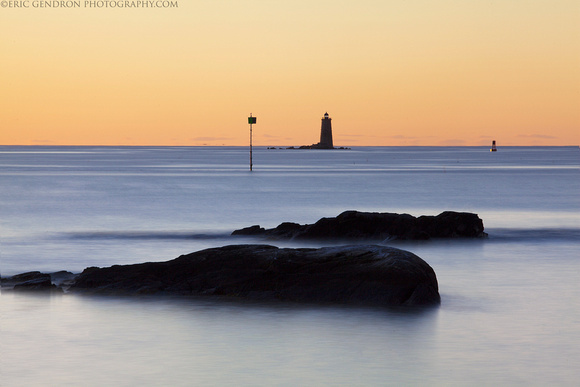 Whaleback Lighthouse Long Exposure