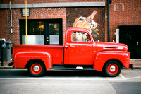 Old Red Ford Truck [35mm]