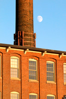 Moon Over Cocheco Mills