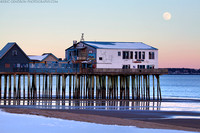 Old Orchard Beach Moonrise