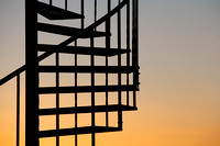 Spiral Staircase Silhouette