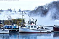 Sea Smoke on Shapleigh Island