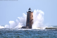 Giant Waves at Whaleback Lighthouse